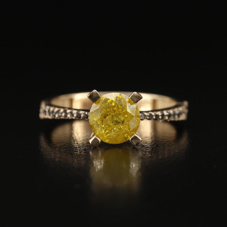 14K 1.56 CTW Diamond Ring