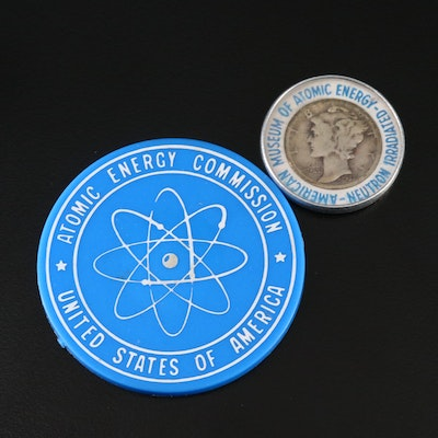 Irradiated Dimes From the 1964 World's Fair and Museum of Atomic Energy