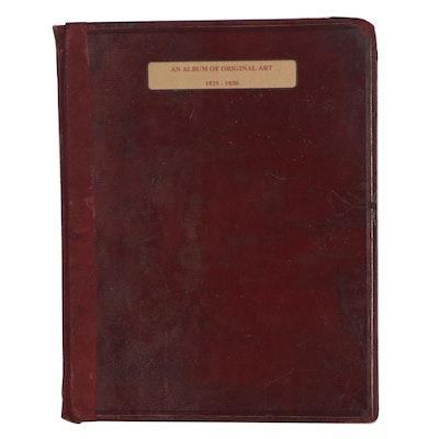 "Illustrated Notebook ""An Album of Original Art,"" 1825-1830"