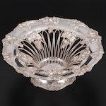 Bailey Banks & Biddle Co. Sterling Silver Grapevine Motif Pierced Bowl