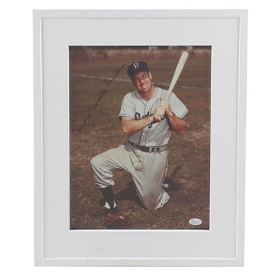 Duke Snider Signed Photo Print, with Full Name COA