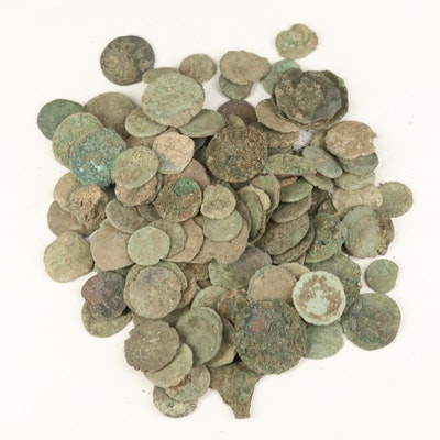 121 Uncleaned Ancient Roman Coins