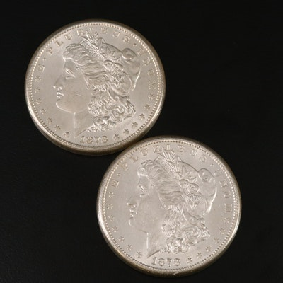 Uncirculated 1878-S Morgan Silver Dollars