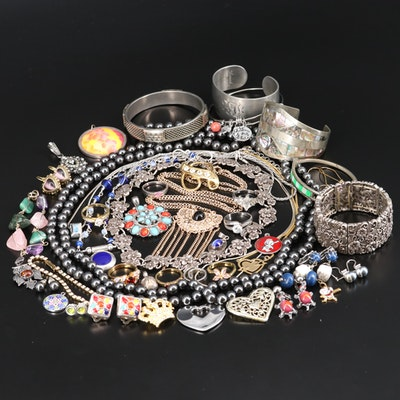 Jewelry Featuring Sterling Silver and Coro