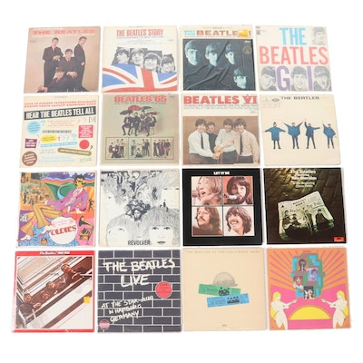 "The Beatles Including ""Revolver"", ""Let it Be"" and Other Vinyl Records"