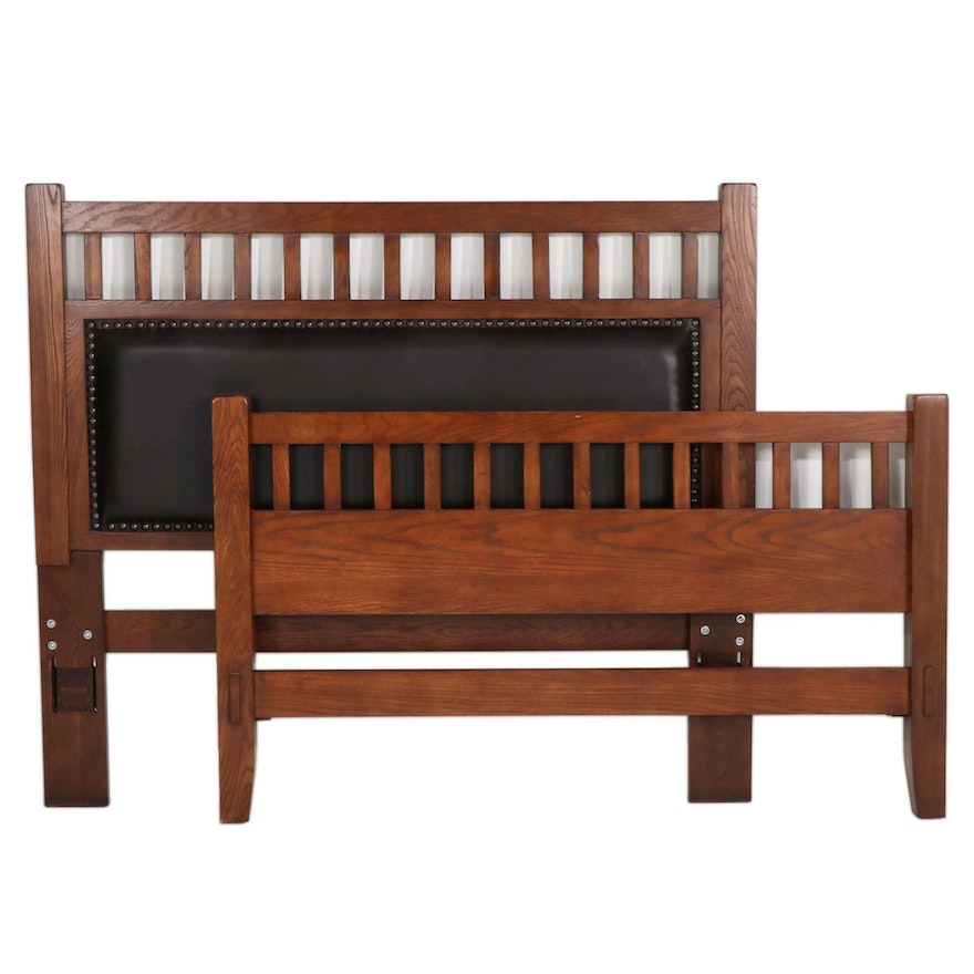 Ashley Furniture Arts and Crafts Style Queen Bed Frame
