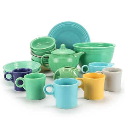 """Homer Laughlin """"Fiesta"""" Dinnerware and Other Table Accessories"""