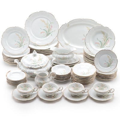 Hutschenreuther Pasco German Fine China Dinnerware Set
