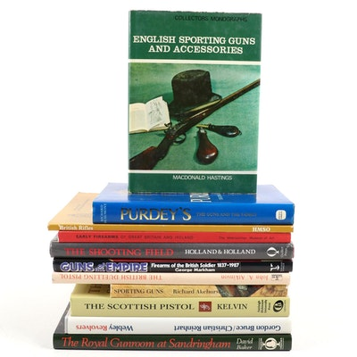 """""""Purdey's"""", """"The Scottish Pistol"""", """"The Royal Gunroom at Sandringham"""" and More"""