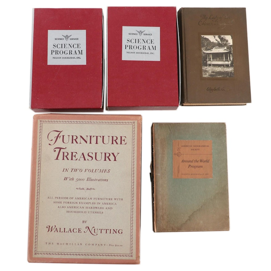 """""""Furniture Treasury"""" Two-Volume Set by Wallace Nutting and More"""