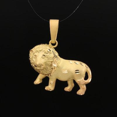 8K Lion Pendant
