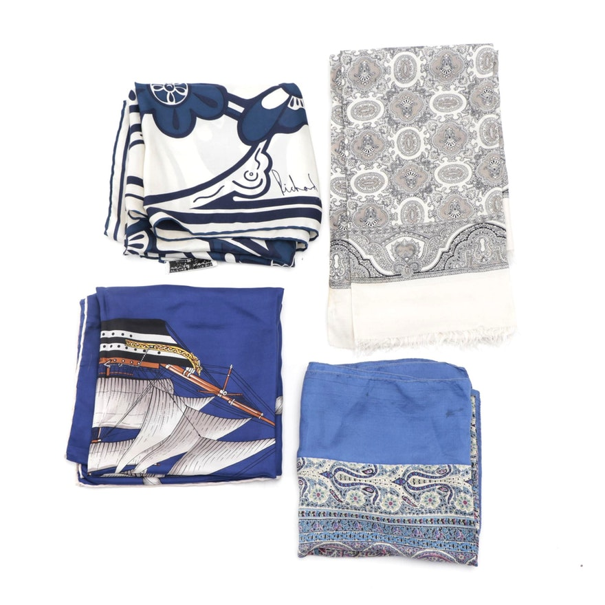 Liberty London, Richard Allan and Other Silk Scarves