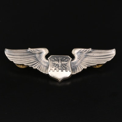 U.S. Air Force Sterling Silver Navigator Badge