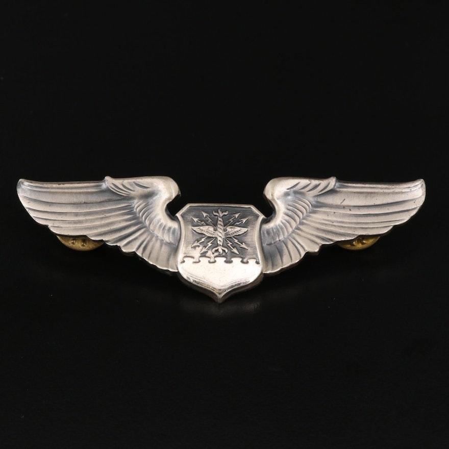 U.S. Air Force Sterling Silver Navigator Badge