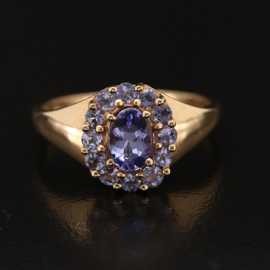 14K Tanzanite Ring