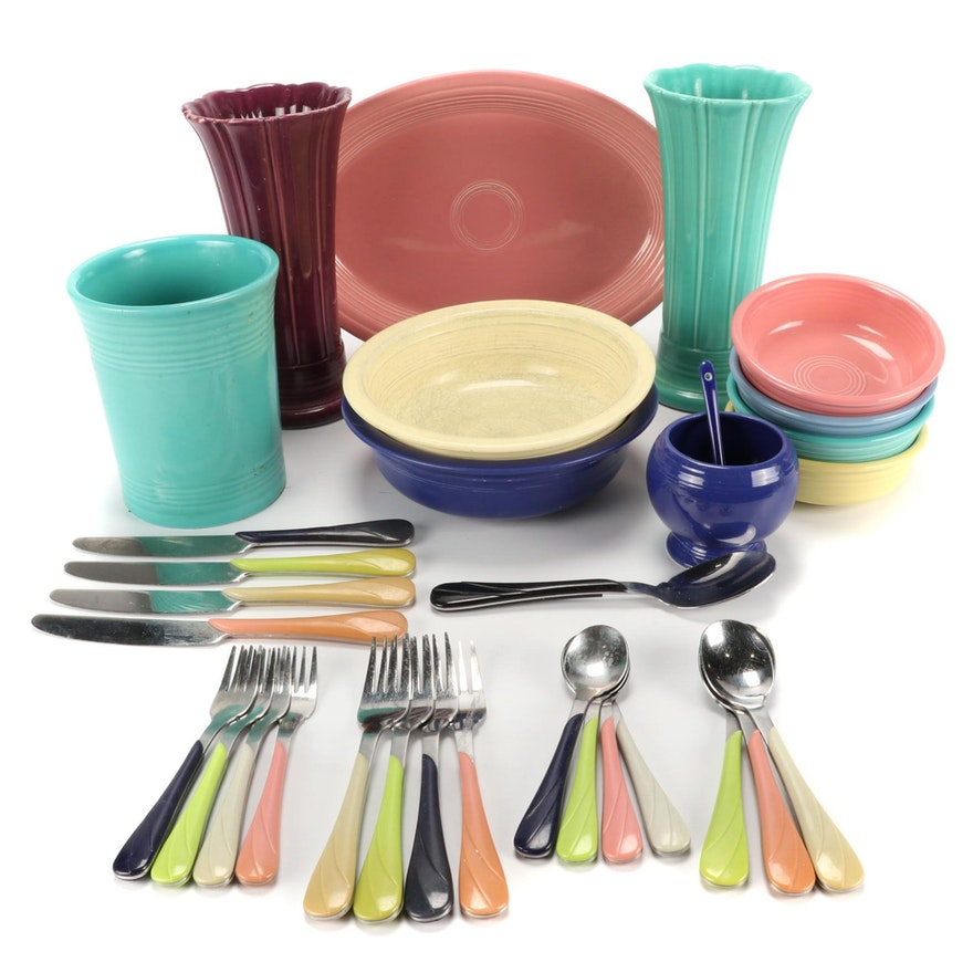 "Homer Laughlin ""Fiesta"" Tableware, Flatware, and Table Accessories"