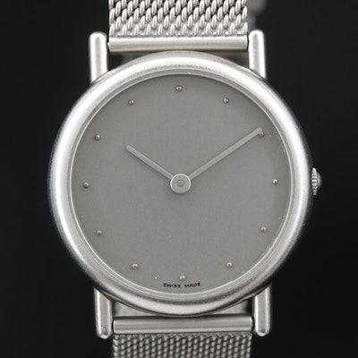 Georg Jensen Stainless Steel Quartz Wristwatch