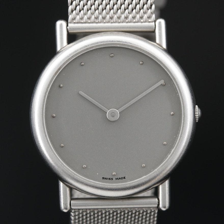 Georg Jensen Stainless Steel Quartz Wristwatch