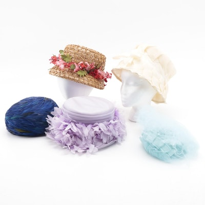 Shillito's Turban and Cloche, Collette Cathay and More Hats and Bridal Headpiece