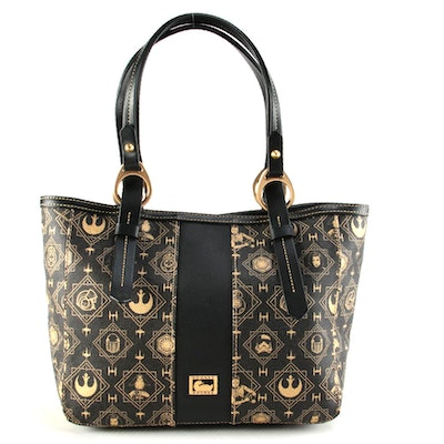 "Dooney & Bourke ""The Last Jedi"" Space Bear Skyler Tote"
