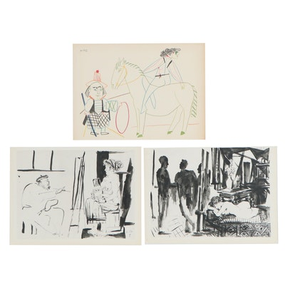 "Collotype and Double-Sided Heliogravures after Pablo Picasso for ""Verve"""
