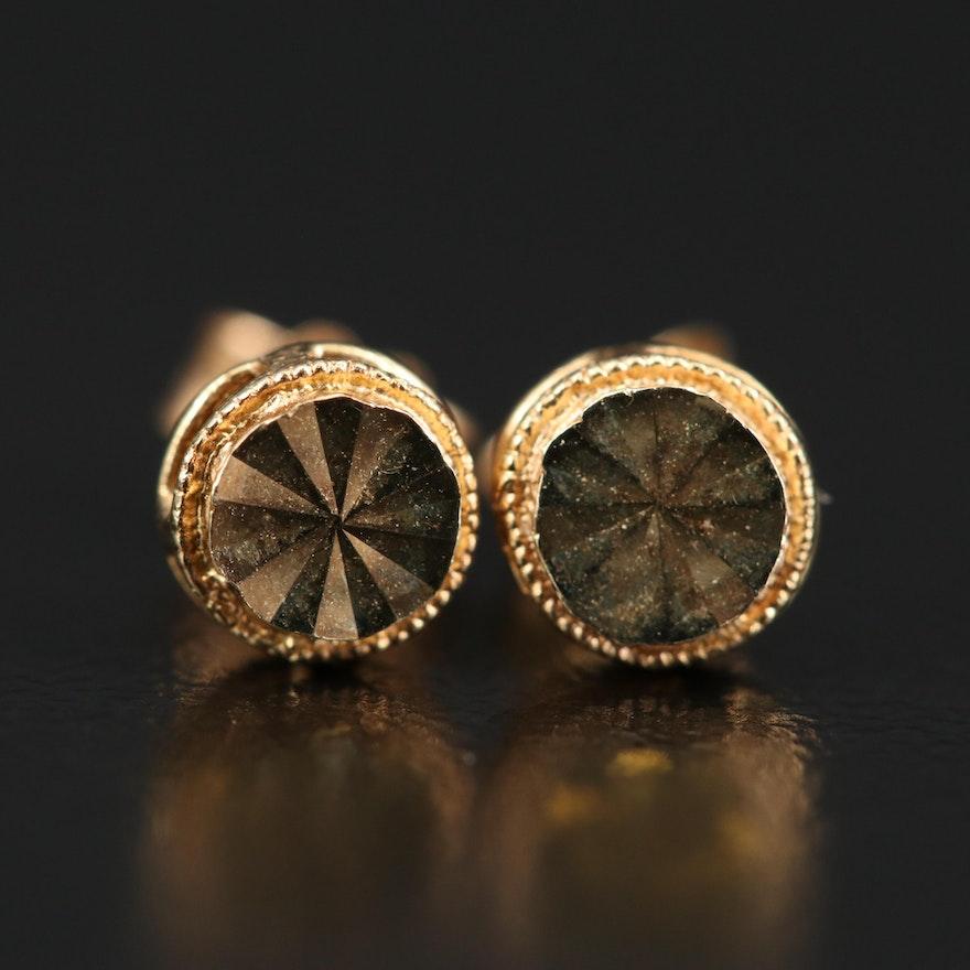 14K Stud Earrings