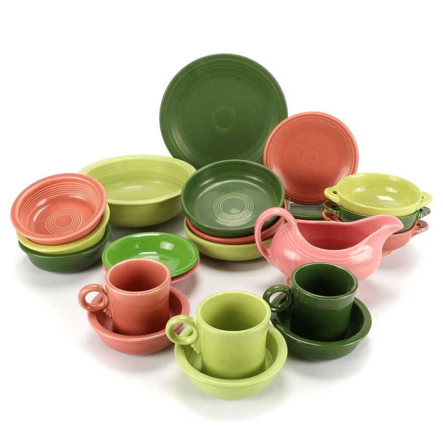"""Homer Laughlin """"Fiesta"""" Tableware with Other Serveware and Table Accessories"""