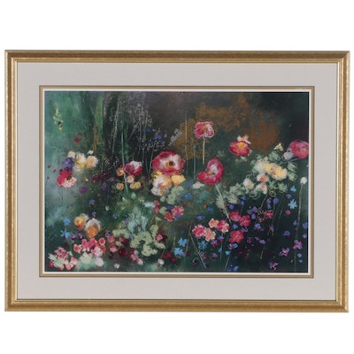 "Giclée after Aleah Koury ""Meadow Garden II"""