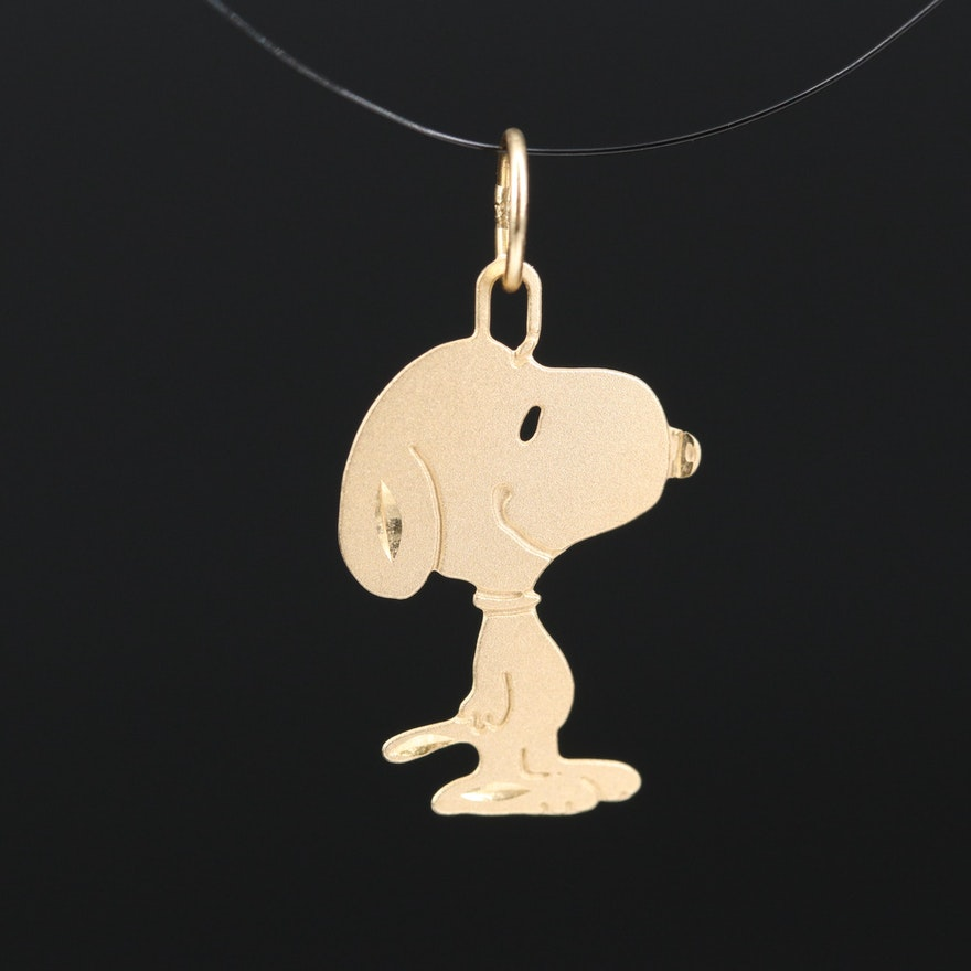 Michael Anthony 14K Peanuts Snoopy Charm