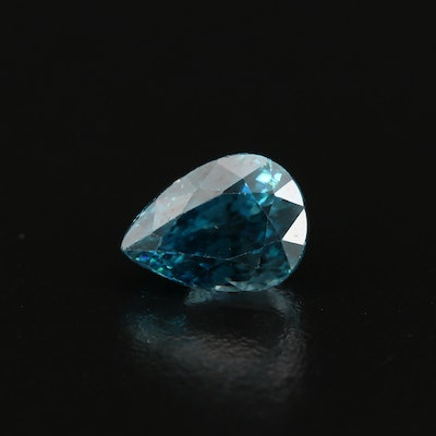 Loose 8.08 CT Pear Faceted Zircon