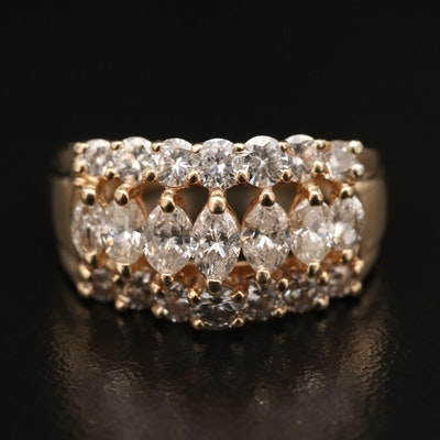 14K 2.08 CTW Diamond Ring