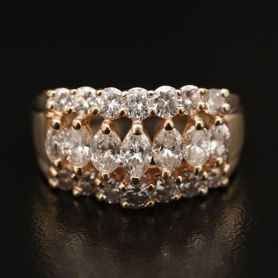 14K 2.08 CTW Diamond Ring