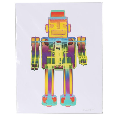 "Roy Livingston Giclée from Series ""X-Ray Robot  - 3N2O"""