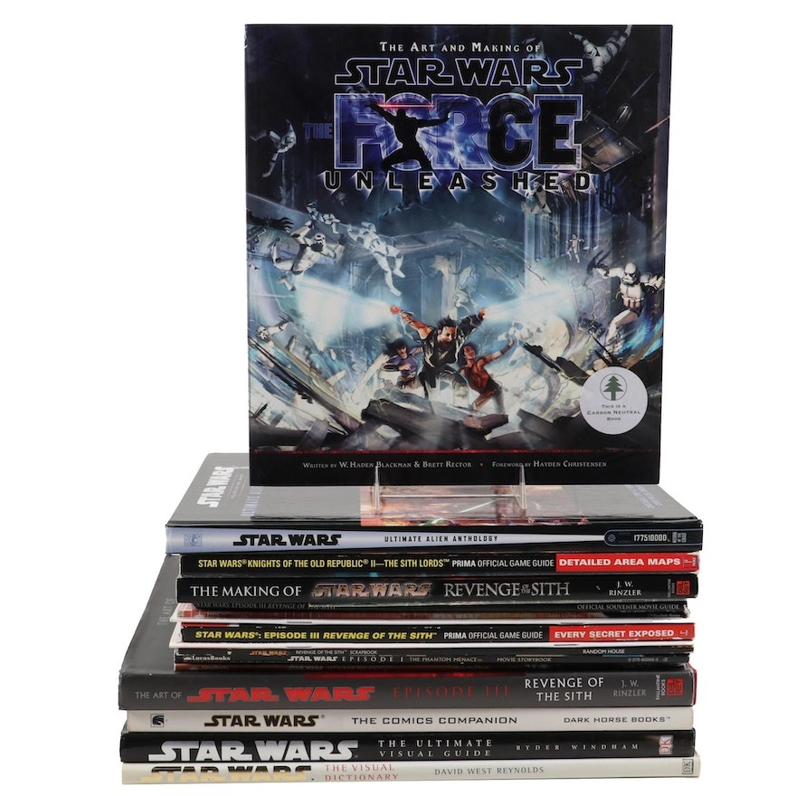 """Star Wars"" Books Including Visual Dictionaries, Movie Storybooks, and More"