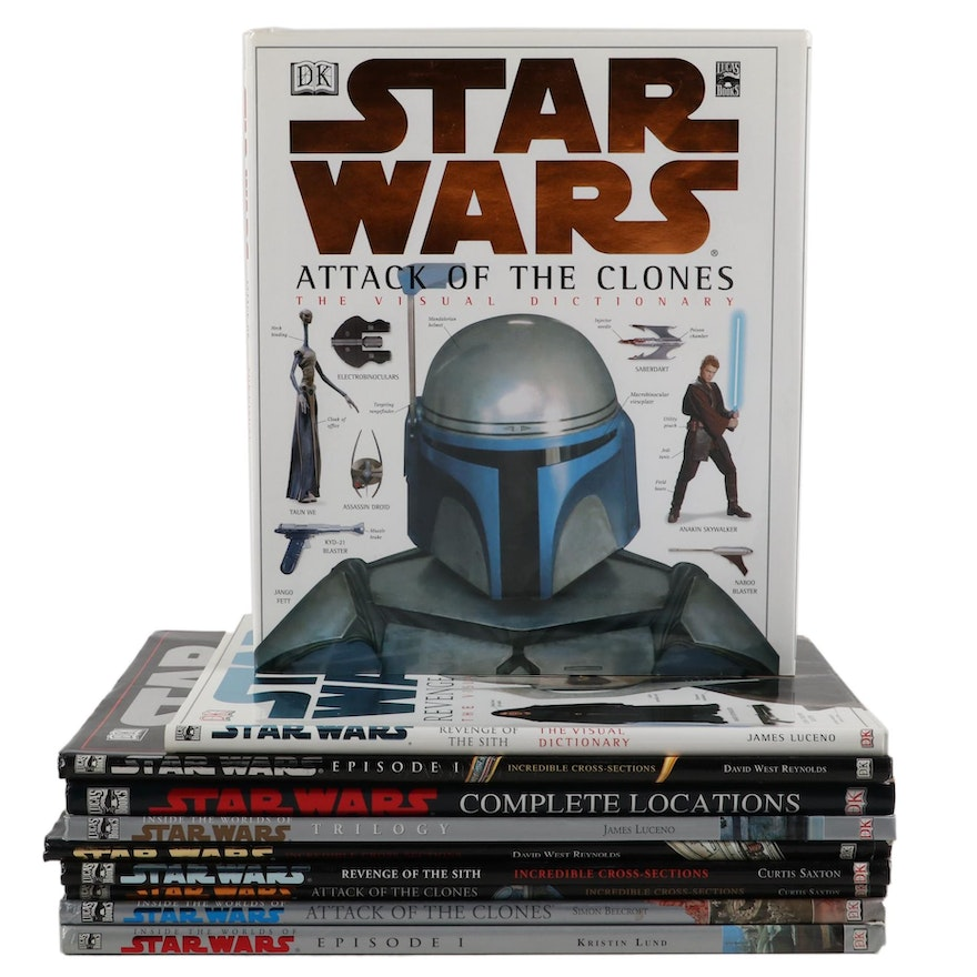 """""""Star Wars"""" Book Collection Including """"Inside the Worlds of Star Wars Trilogy"""""""