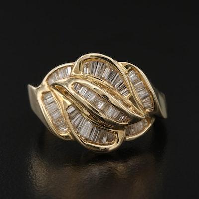 14K 1.30 CTW Diamond Ring