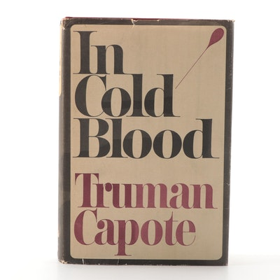 "First Trade Printing ""In Cold Blood"" by Truman Capote, 1965"