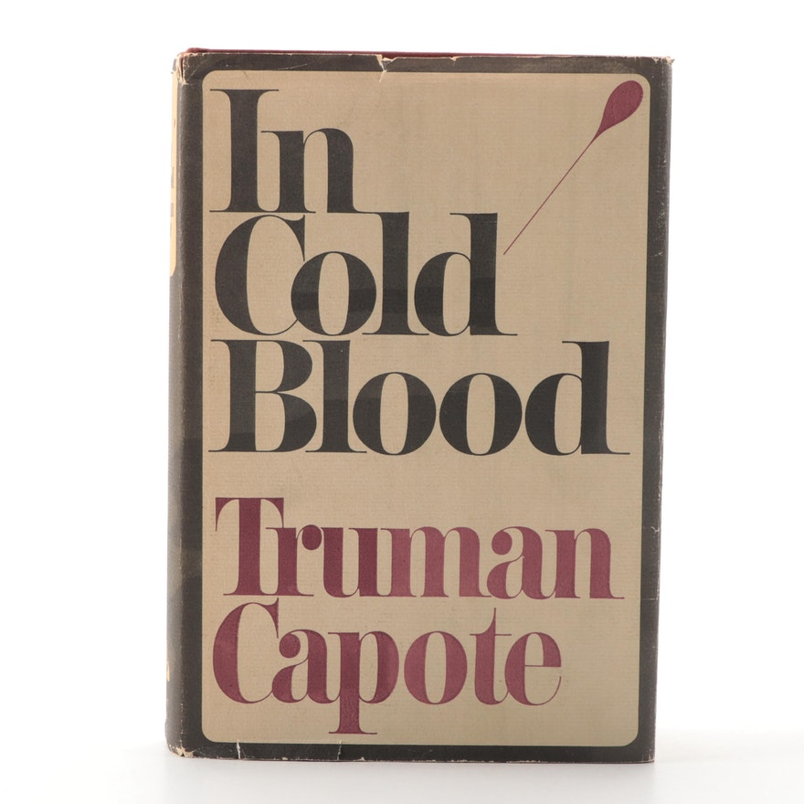 """First Trade Printing """"In Cold Blood"""" by Truman Capote, 1965"""