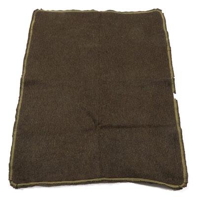 "Hugh Wallace Co. ""Montana"" Imitation Buffalo Fur Carriage Blanket, circa 1905"