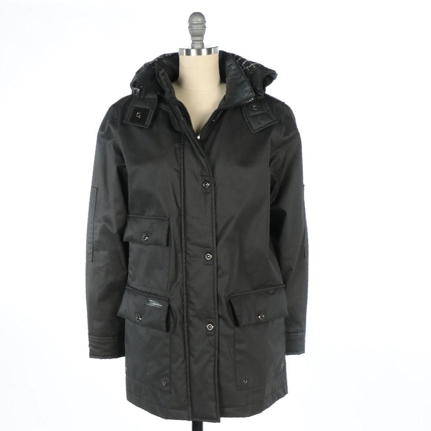 Lauren Ralph Lauren Black Waterproof Coat