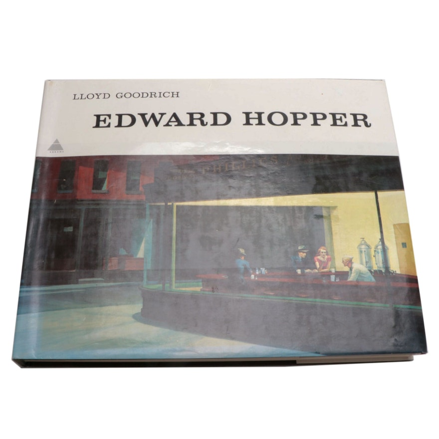 "Oblong Folio ""Edward Hopper"" with Text by Lloyd Goodrich, 1978"
