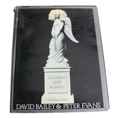 "First American Edition ""Goodbye Baby & Amen"" by David Bailey and Peter Evans"