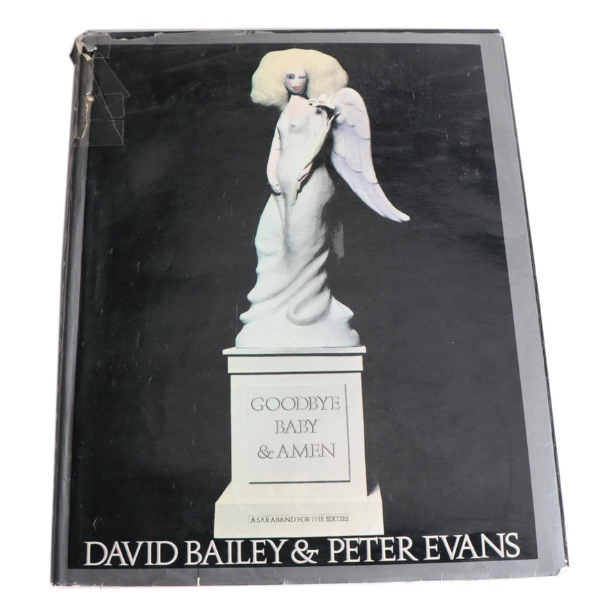 """First American Edition """"Goodbye Baby & Amen"""" by David Bailey and Peter Evans"""