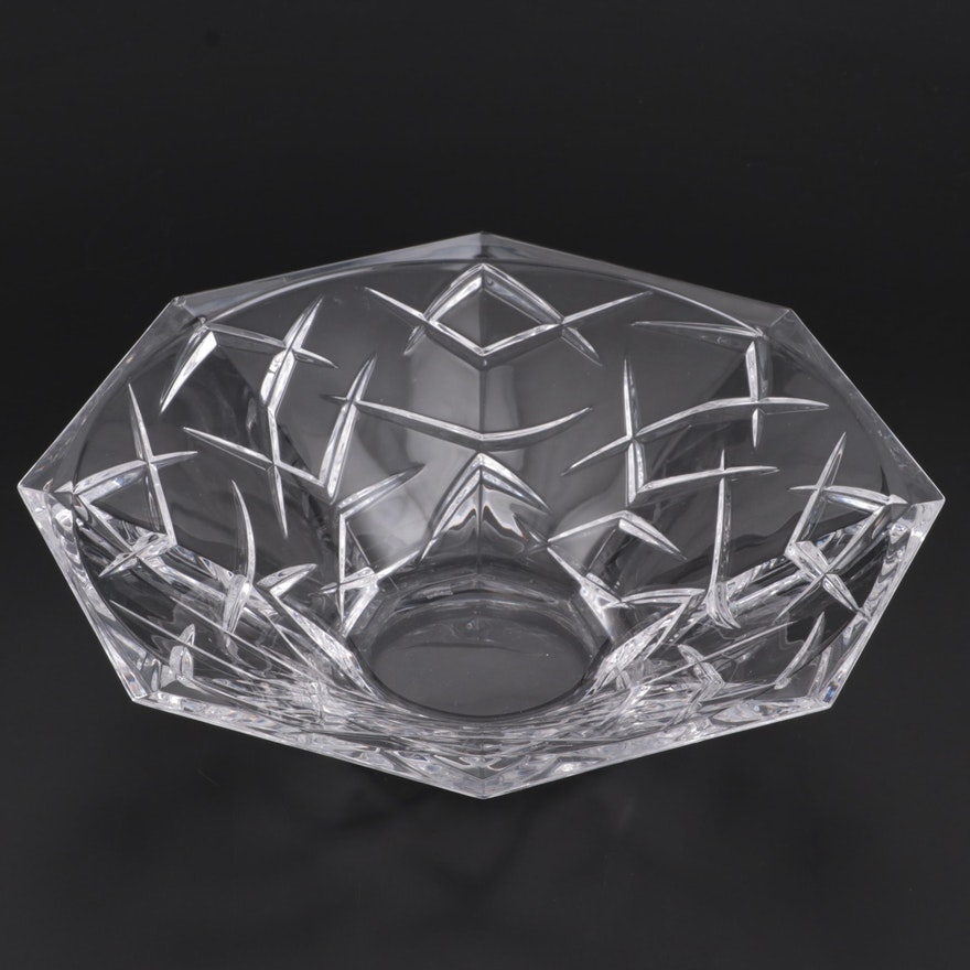 """Marquis by Waterford Crystal """"Ceylon"""" Centerpiece Bowl"""