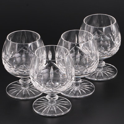 Cut Glass Brandy Snifters, Mid to Late 20th Century