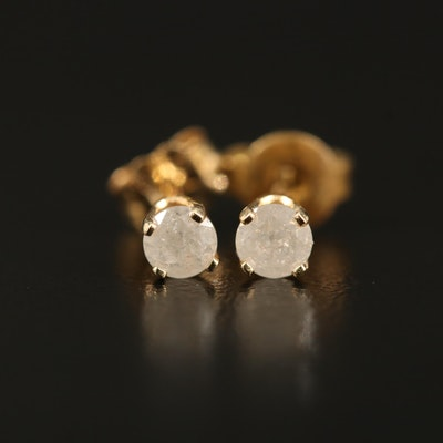 14K 0.14 CTW Diamond Stud Earrings
