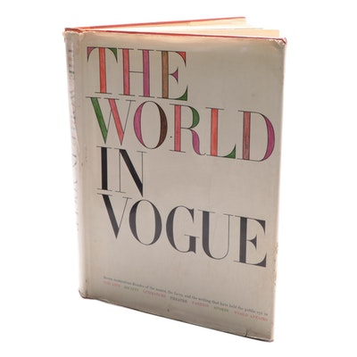 """The World in Vogue"" Edited by Paul H. Bonner Jr., 1963"