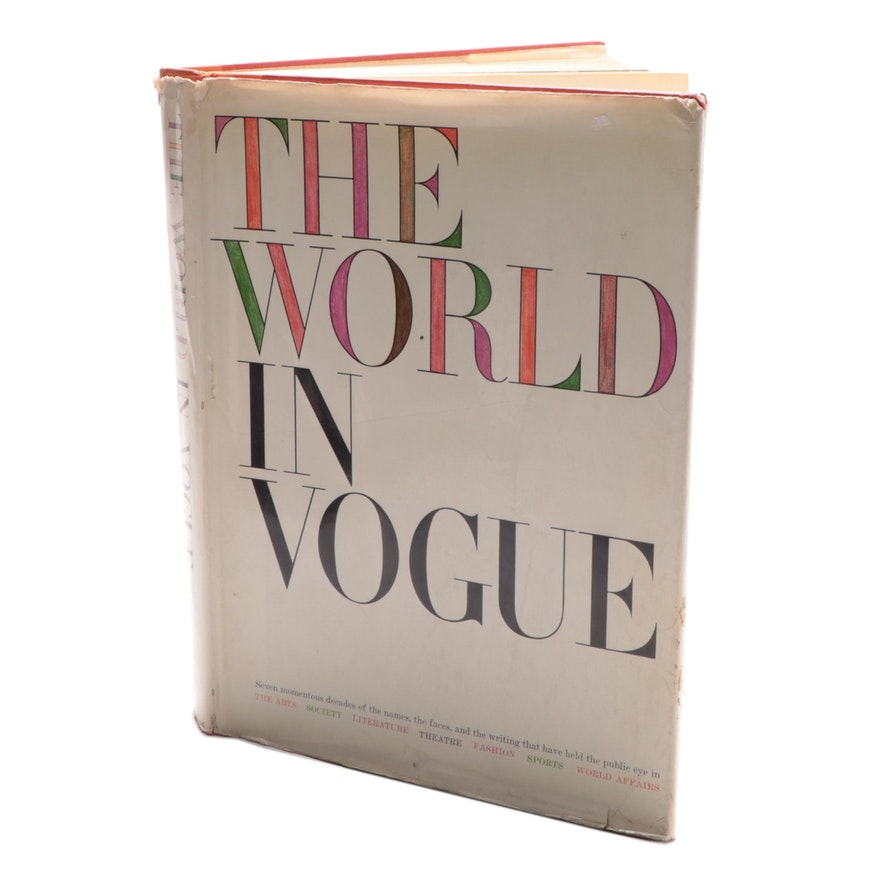 """""""The World in Vogue"""" Edited by Paul H. Bonner Jr., 1963"""
