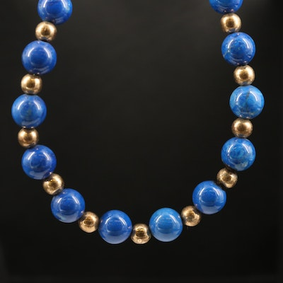 Magnesite Beaded Necklace