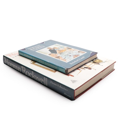 Norman Rockwell Art Reference Books by Thomas S. Buechner and Arthur L. Guptill